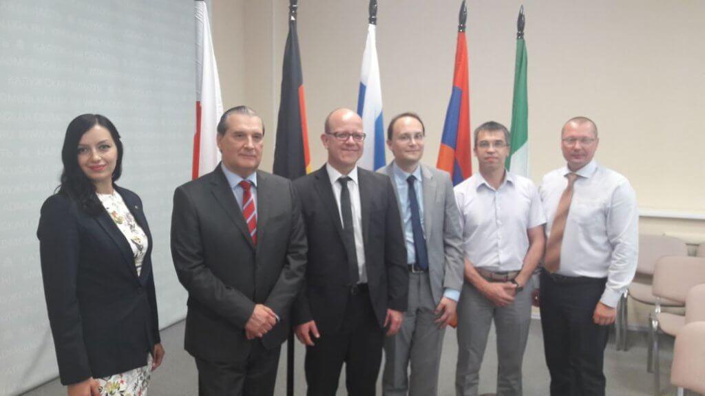 Адвокат Евгений Абраменко принял участие в международном научно-практическом семинаре.