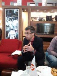 Что такое легализация денежных средств? С такой темой адвокат Евгений Абраменко выступил на бизнес-завтраке Ассоциации предпринимателей Калужской области